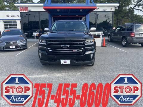 2017 Chevrolet Silverado 1500 for sale at 1 Stop Auto in Norfolk VA