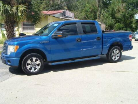 2011 Ford F-150 for sale at VANS CARS AND TRUCKS in Brooksville FL