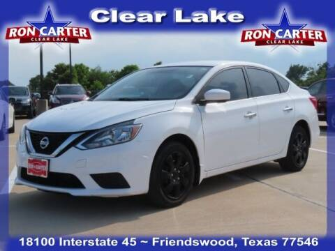 2017 Nissan Sentra for sale at Ron Carter  Clear Lake Used Cars in Houston TX