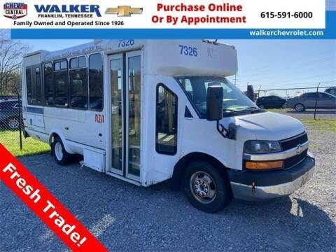 2009 Chevrolet Express Cutaway for sale at WALKER CHEVROLET in Franklin TN
