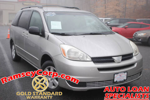 2005 Toyota Sienna for sale at Ramsey Corp. in West Milford NJ