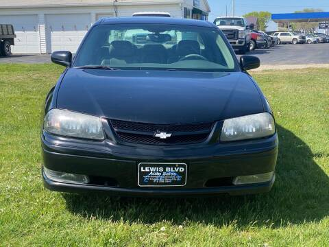 2004 Chevrolet Impala for sale at Lewis Blvd Auto Sales in Sioux City IA