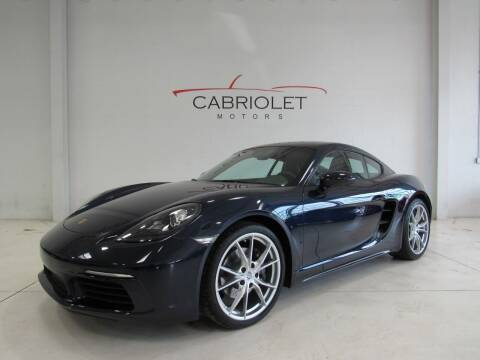 2018 Porsche 718 Cayman for sale at Cabriolet Motors in Morrisville NC