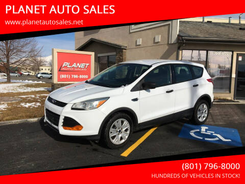 2014 Ford Escape for sale at PLANET AUTO SALES in Lindon UT