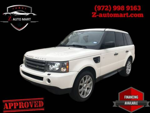 2010 Land Rover Range Rover Sport for sale at Z AUTO MART in Lewisville TX