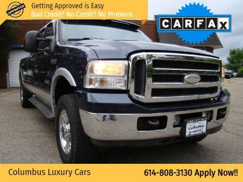 2005 Ford F-250 Super Duty for sale at Columbus Luxury Cars in Columbus OH