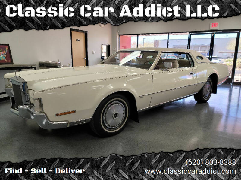 1972 Lincoln Mark IV for sale at Classic Car Addict in Mesa AZ