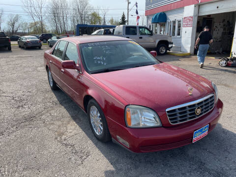 2004 Cadillac DeVille for sale at Peter Kay Auto Sales in Alden NY