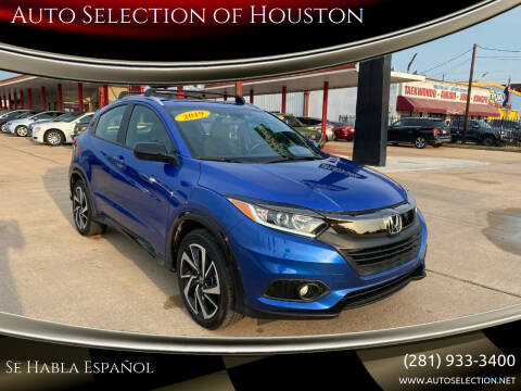 2019 Honda HR-V for sale at Auto Selection of Houston in Houston TX