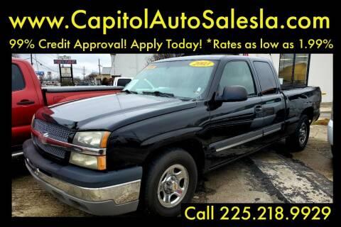 2003 Chevrolet Silverado 1500 for sale at CAPITOL AUTO SALES LLC in Baton Rouge LA