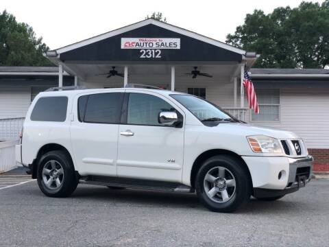 2005 Nissan Armada for sale at CVC AUTO SALES in Durham NC