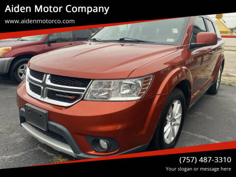 2014 Dodge Journey for sale at Aiden Motor Company in Portsmouth VA