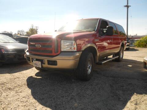 2005 Ford Excursion for sale at Mountain Auto in Jackson CA