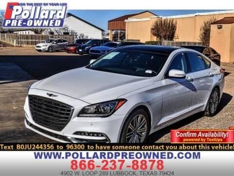 2018 Genesis G80 for sale at South Plains Autoplex by RANDY BUCHANAN in Lubbock TX