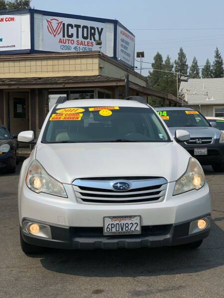 2011 Subaru Outback for sale at Victory Auto Sales in Stockton CA