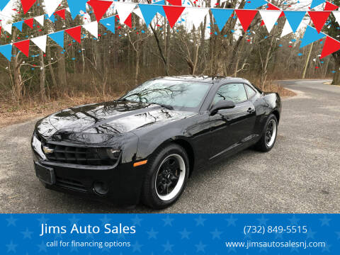 2011 Chevrolet Camaro for sale at Jims Auto Sales in Lakehurst NJ