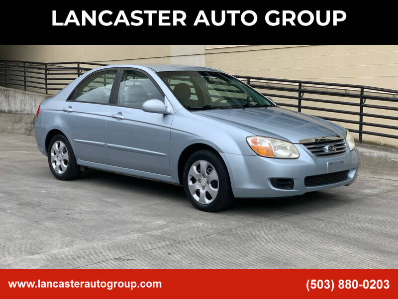 2007 Kia Spectra for sale at LANCASTER AUTO GROUP in Portland OR