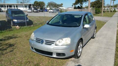 2007 Volkswagen Rabbit for sale at GOLDEN GATE AUTOMOTIVE,LLC in Zephyrhills FL