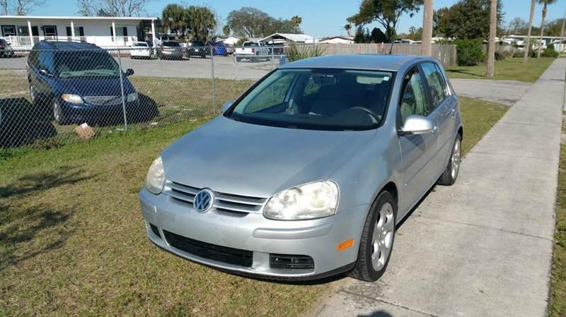2007 Volkswagen Rabbit for sale at GOLDEN GATE AUTOMOTIVE,LLC in Zephyrhills FL