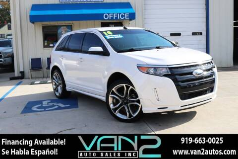 2014 Ford Edge for sale at Van 2 Auto Sales Inc in Siler City NC