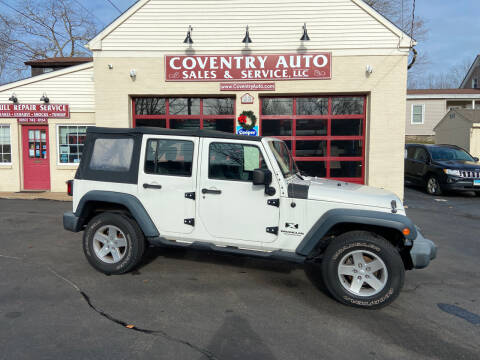 2007 Jeep Wrangler Unlimited for sale at COVENTRY AUTO SALES in Coventry CT
