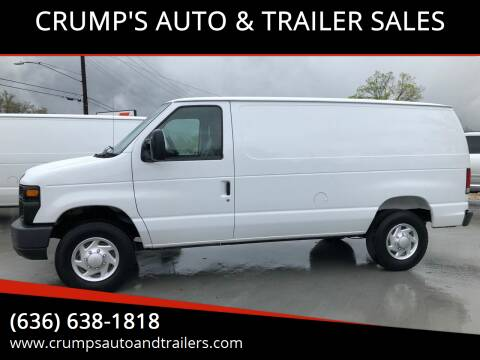 2014 Ford E-Series Cargo for sale at CRUMP'S AUTO & TRAILER SALES in Crystal City MO