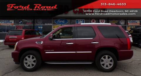 2007 Cadillac Escalade for sale at Ford Road Motor Sales in Dearborn MI