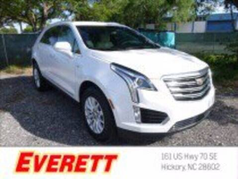 2017 Cadillac XT5 for sale at Everett Chevrolet Buick GMC in Hickory NC