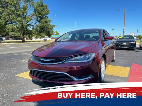 2016 Chrysler 200 for sale at 1st Choice Auto L.L.C in Oklahoma City OK