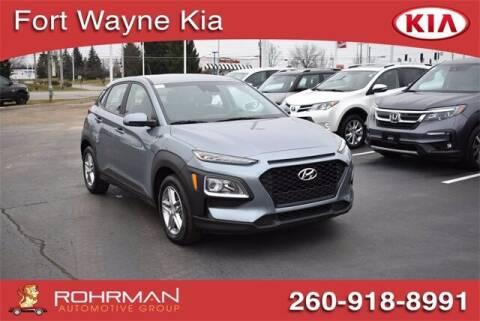 2020 Hyundai Kona for sale at BOB ROHRMAN FORT WAYNE TOYOTA in Fort Wayne IN