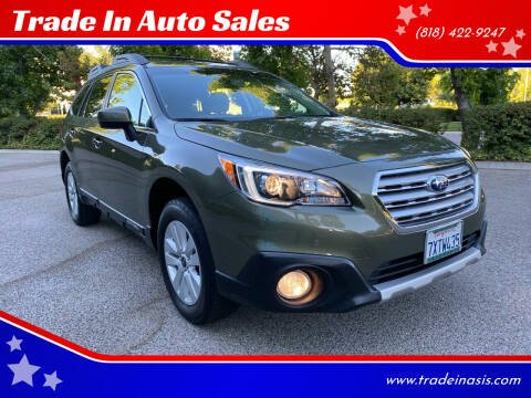 2017 Subaru Outback for sale at Trade In Auto Sales in Van Nuys CA