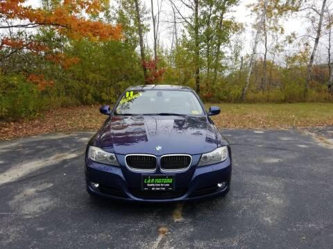 2011 BMW 3 Series for sale at L & R Motors in Greene ME