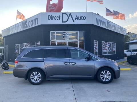 2014 Honda Odyssey for sale at Direct Auto in D'Iberville MS