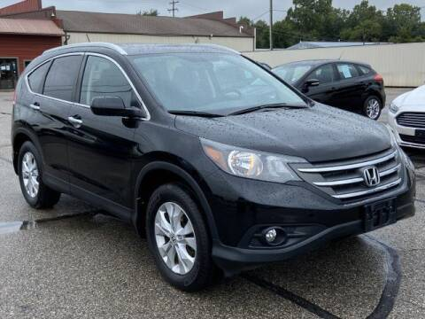 2014 Honda CR-V for sale at Miller Auto Sales in Saint Louis MI