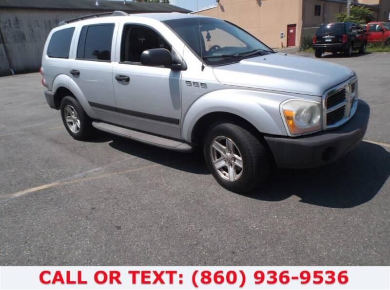 2006 Dodge Durango for sale at Lee Motor Sales Inc. in Hartford CT