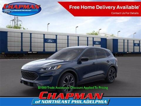 2021 Ford Escape for sale at CHAPMAN FORD NORTHEAST PHILADELPHIA in Philadelphia PA