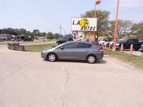2011 Honda Insight for sale at L A AUTOS in Omaha NE