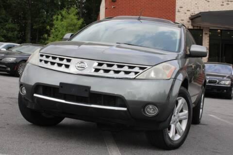 2007 Nissan Murano for sale at Atlanta Unique Auto Sales in Norcross GA