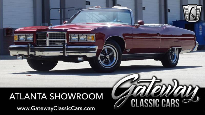 1975 Pontiac Grand Ville for sale in Alpharetta, GA