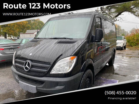 2012 Mercedes-Benz Sprinter Cargo for sale at Route 123 Motors in Norton MA
