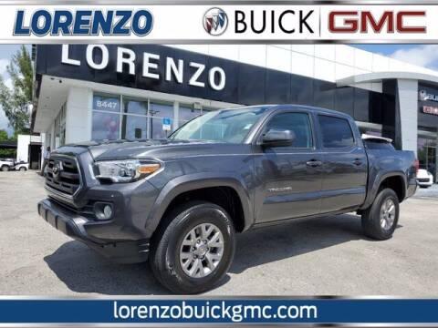2018 Toyota Tacoma for sale at Lorenzo Buick GMC in Miami FL