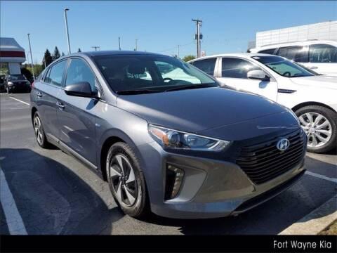 2018 Hyundai Ioniq Hybrid for sale at BOB ROHRMAN FORT WAYNE TOYOTA in Fort Wayne IN