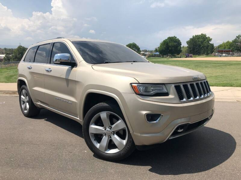 2014 Jeep Grand Cherokee for sale at Nations Auto in Lakewood CO