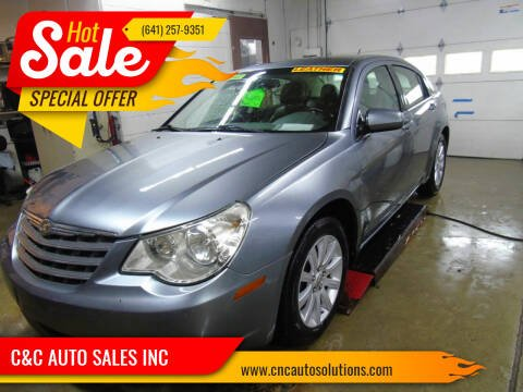 2010 Chrysler Sebring for sale at C&C AUTO SALES INC in Charles City IA
