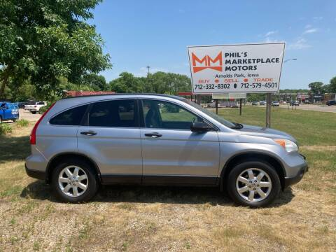 2008 Honda CR-V for sale at Phil's Marketplace Motors in Arnolds Park IA