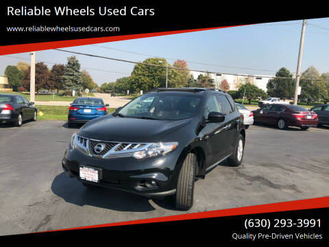 2014 Nissan Murano for sale at Reliable Wheels Used Cars in West Chicago IL