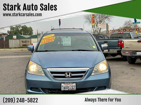 2006 Honda Odyssey for sale at Stark Auto Sales in Modesto CA