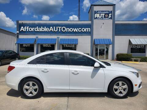 2015 Chevrolet Cruze for sale at Affordable Autos in Houma LA
