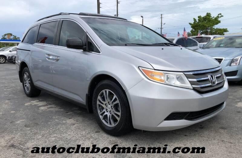 2013 Honda Odyssey for sale at AUTO CLUB OF MIAMI in Miami FL