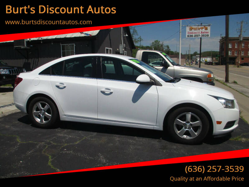 2014 Chevrolet Cruze for sale at Burt's Discount Autos in Pacific MO